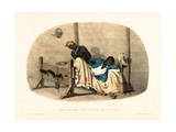 Bed-Stocks for Intoxication, Illustration from 'West India Scenery', 1836 Giclee Print by Richard Bridgens