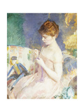 Dressing Dolls Giclee Print by Cecilia Beaux