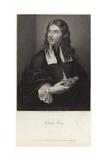 Portrait of Salvator Rosa Giclée-tryk af Salvator Rosa