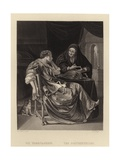 The Fortune Teller Giclee Print by Frans Van Mieris