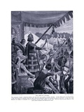 The Prize of Victory, 1920's Giclee Print by Richard Caton II Woodville