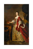 Anne, Countess of Dumfries, 1763 Giclee Print by Thomas Hudson