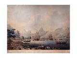 A View of Moorea, 1787 Giclee Print by John the Younger Cleveley