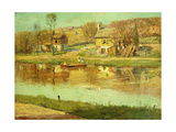 Reflections in the Water, C.1895-1919 Giclee Print by Willard Leroy Metcalf