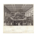 The Great Anti-Slavery Meeting in Exeter Hall Giclee Print by Thomas Hosmer Shepherd