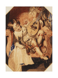 The Page Giclee Print by Daniel Maclise