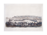 First Landing of Americans in Japan at Gore-Hama July 14th 1853 Giclee Print by Wilhelm Heine