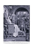 The Assembley at Windsor Ad1126, 1920's Giclee Print by Richard Caton Woodville II