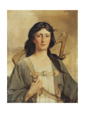 Portrait of Erin, 1898 Giclee Print by Talbot Hughes