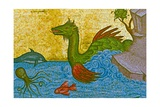 Sea Serpent, Kykkos Monastery, Troodos Mountains, Cyprus Giclee Print