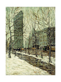 The Flatiron Building Giclee Print by Ernest Lawson