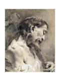 Saint Simon Giclee Print by Giambattista Piazzetta or Piazetta