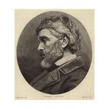 Portrait of Thomas Carlyle Giclee Print