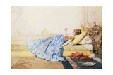 A Pensive Moment Giclee Print by Charles Edouard De Beaumont