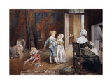 The Little Peacemaker, 1895 Giclee Print by Eleanor Manly