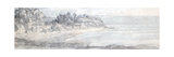 From the Heathfields Seat, Lympstone, C.1813 Giclee Print by Francis Towne