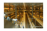 Berlin Central Station. Interior. Germany Giclee Print