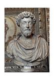 Marcus Aurelius (121-180). Roman Emperor. Bust Giclee Print