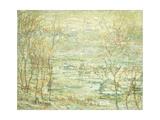 Spring Landscape, Harlem River Giclee Print by Ernest Lawson
