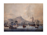 A View of Huaheine, 1787 Giclee Print by John the Younger Cleveley