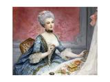 La Toilette Giclee Print by Lucio Rossi