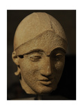 Head of the Trojan Helper. East Pediment's Group of the Temple of Aegina. 480 BC Giclee Print