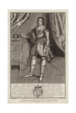 George Villiers Giclee Print by Martin, the Elder Droeshout