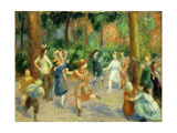 Children's Games Giclee Print by William James Glackens