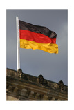 German Flag Giclee Print
