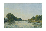 The Seine at Bougival; La Seine a Bougival, 1872 Giclee Print by Alfred Sisley