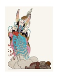 The Fairy Godmother Giclee Print by Georges Barbier