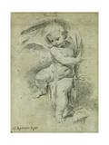 An Angel Giclee Print by Vittorio Maria Bigari