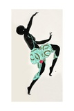 Dancing Girl Giclee Print by Georges Barbier