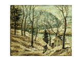 Country Road Giclee Print by Ernest Lawson