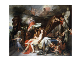 Mercury Ordering Calypso to Release Ulysses Giclee Print by Gerard De Lairesse