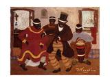 African Nostalgia (Candombe); Nostalgias Africanas (Candombe) Giclee Print by Pedro Figari