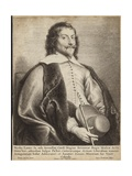 Portrait of Nicholas Lanier Giclee Print by Jan The Elder Lievens