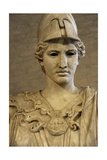 Bust of Athena. Roman Sculpture after Original of About 420 BC. Glyptothek. Munich. Germany Giclee Print