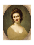 Portrait of Miss Sunning, Head and Shoulders Giclee Print by Nathaniel Hone