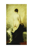 A Partially Draped Nude Giclee Print by Charles Chaplin