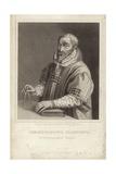 Christophe Plantin Giclee Print by Hendrik Goltzius