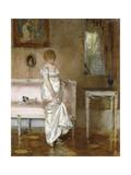 The New Dress Giclee Print by Franz Skarbina