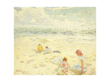 The Beach; La Plage Giclee Print by Charles-Garabed Atamian