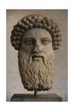 Head of Hermes Propylaios. Roman Copy from an Greek Original by Alkamenes. 5th Century Giclee Print