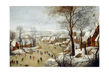 The Birdtrap Giclee Print by Pieter Brueghel the Younger