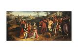 Coriolanus and Volumnia Giclee Print by Maarten de Vos