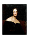 Mary Shelley, C.1840 Giclee Print by Richard Rothwell