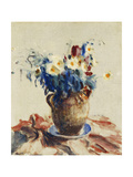 Still Life with Flowers in an Earthenware Jug, C.1910-1920 Giclee Print by Roderic O'Conor