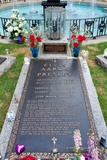 The Grave of Elvis Presley at His Graceland Home Photographic Print