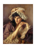 Far Away Thoughts Giclee Print by Albert Lynch